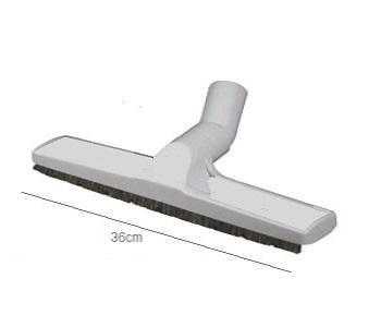 A001 brosse sol lisse avec roulettes 36cm