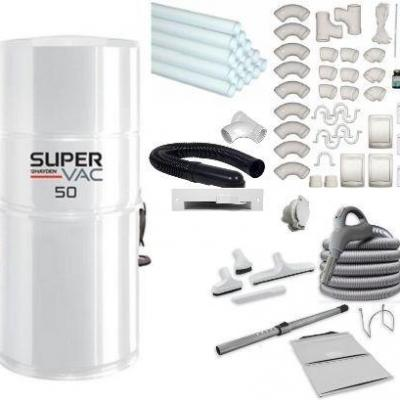 Pack SuperVac 50 Classique Complet