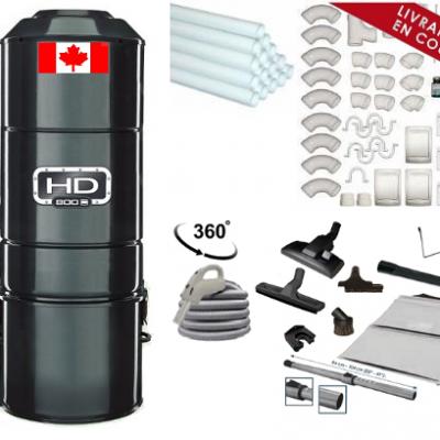 HD 800 + Trousse + Kit de Montage Complet