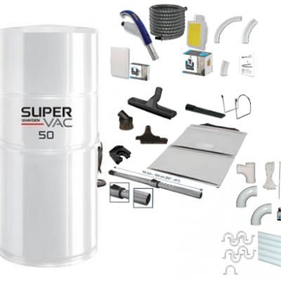 Pack SuperVac 50 Rétraflex Complet SF