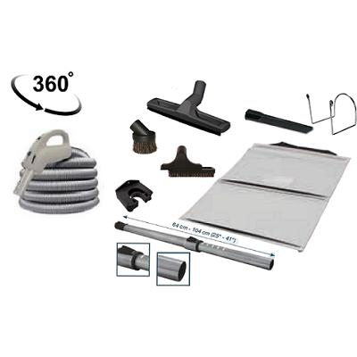 Trousse d'Accessoires avec flexible On/Off - JET