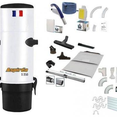 Pack Aspiréa-250 - Rétraflex Complet ST - Flexible Soft-Touch : 9,10m