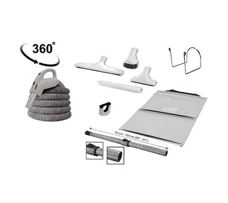 C1 1 flexible trc trousse d accessoires blancs