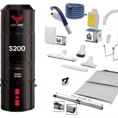 Pack Aspi-Shop 200 Rétraflex Soft Touch