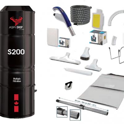 Pack Aspi-Shop 200 Rétraflex Speed Flex