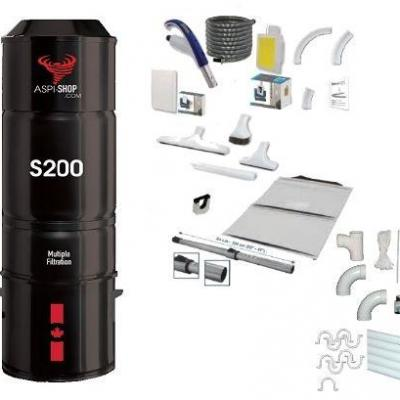 Pack Aspi-Shop 200 Rétraflex Complet SF