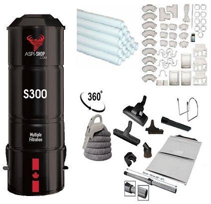 K2 010 pack aspi shop 300 trousse complet