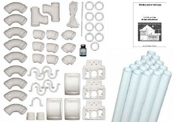 Kit de montage 3 prises 15ml de pvc