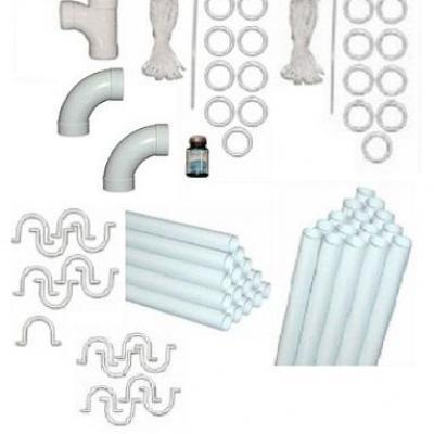Fagot de tube PVC + Raccords