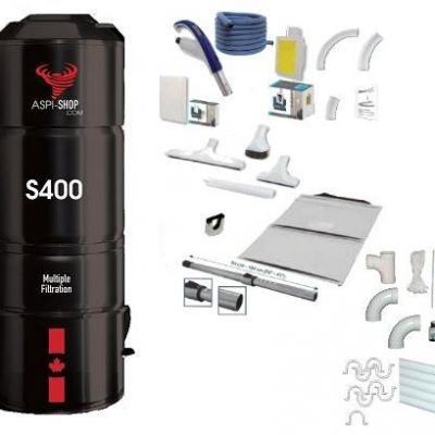 Pack Aspi-Shop 400 Rétraflex Complet ST