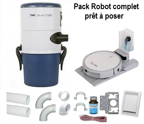 Pack robot complet